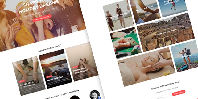 Sharp agency PSD template