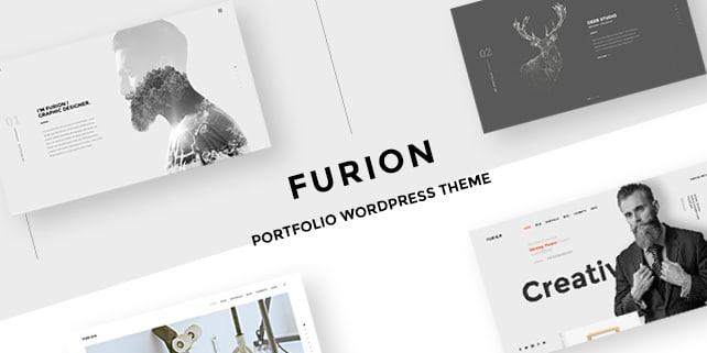 Furion – clean portfolio PSD template