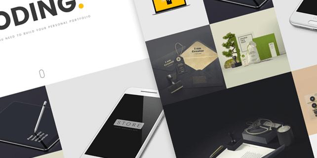 Box – minimalist portfolio HTML theme