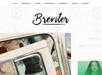 breviter-sharp-blog-wordpress-theme