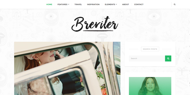 breviter-sharp-blog-wordpress-theme
