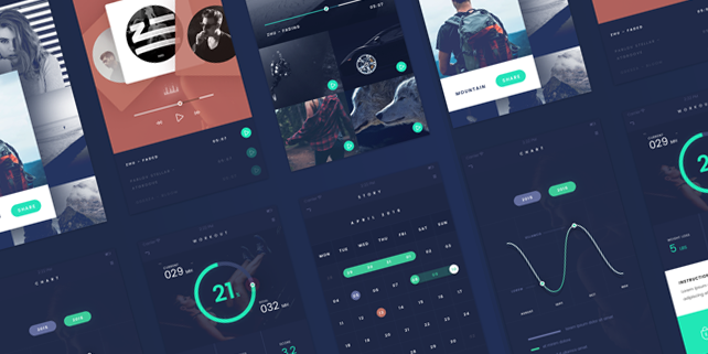 fade-flat-stylish-mobile-ui-kit