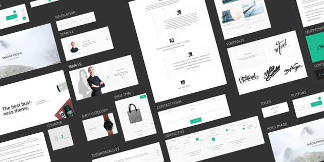 Material Design mini UI kit