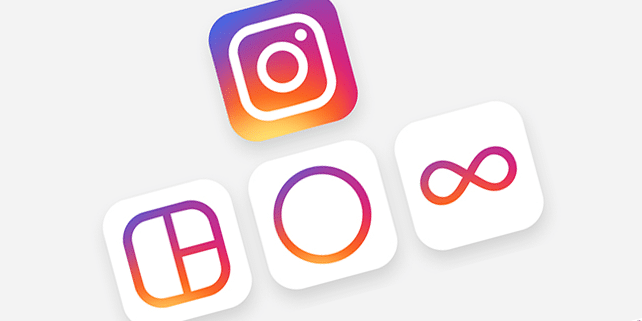 New Instagram vector icons