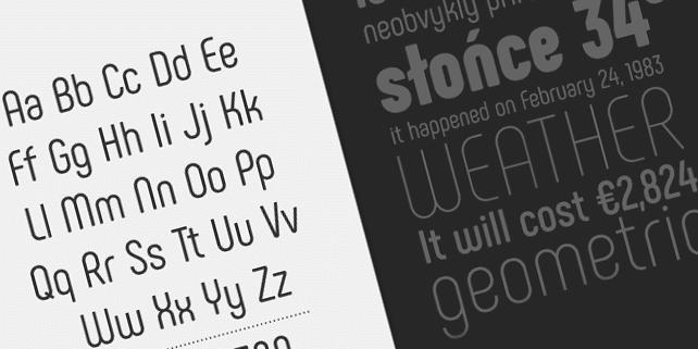 Phenomena – modern, rounded font