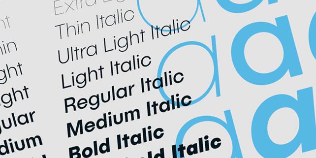 Publica Sans – clean geometric font