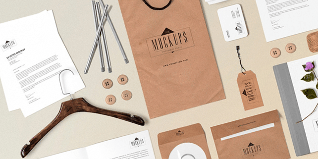 Stationery mockup (16 lovely components)