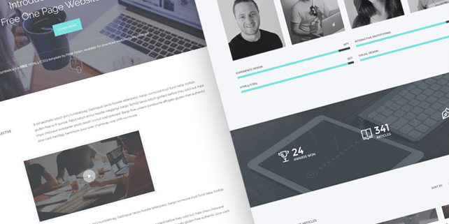 Synthetica – modern HTML template