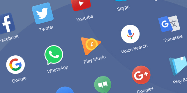 15 popular app icons