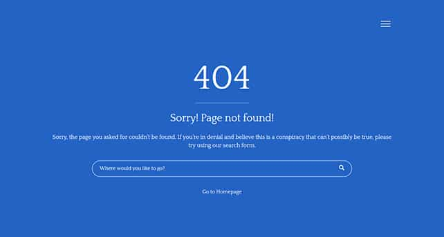 how to create custom 404 pages using forty four wordpress