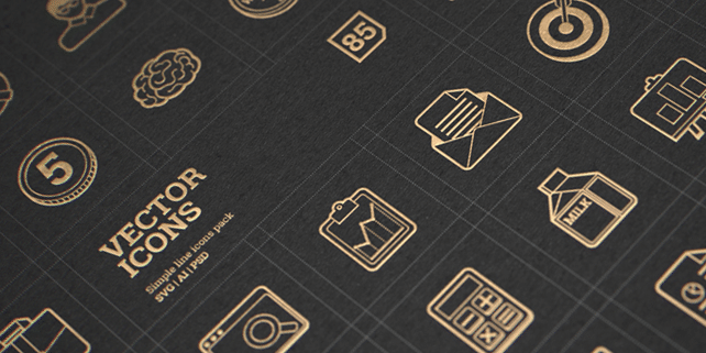 85 multipurpose vector icons