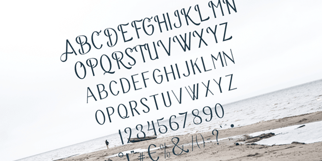 Bravery – elegant display font