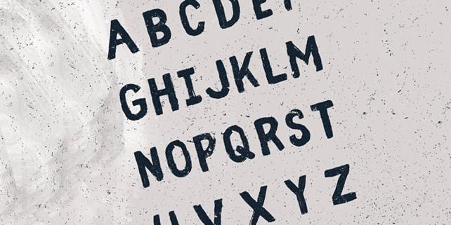 Fibre – handwritten vintage font