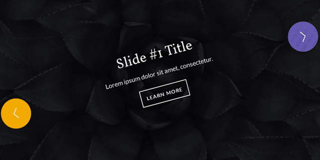 Responsive radial SVG slider