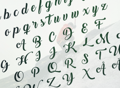 back-to-black-creative-calligraphic-font
