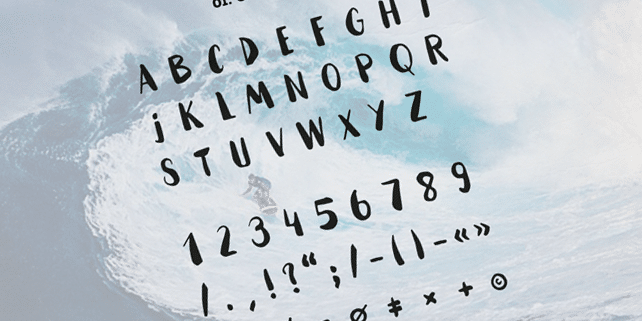 Hammock – fresh handmade font