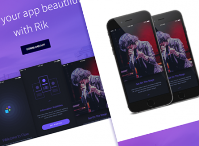 rik-elegant-html-mobile-app-template