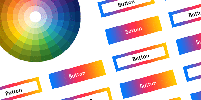 Colorful button CSS animations