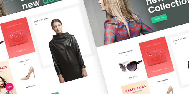 OhMyshop – ecommerce PSD template