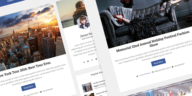 Render – simple blog WordPress theme
