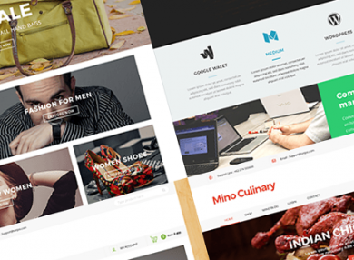 mino-clean-psd-blog-template
