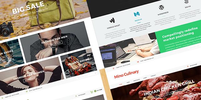 Mino – clean blog PSD template