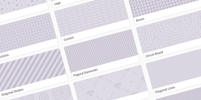 40 patterned SVG backgrounds