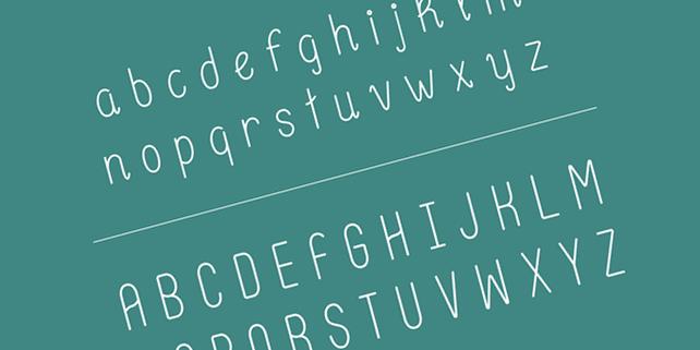 Hentges – soft, rounded font