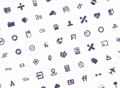100-modern-customizable-icons