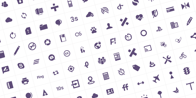 100-modern-customizable-icons