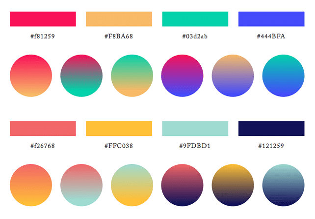sample pallete