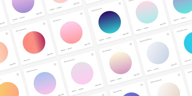 180 fresh background gradients
