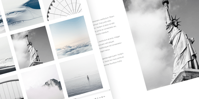 Bloc – photography WordPress theme