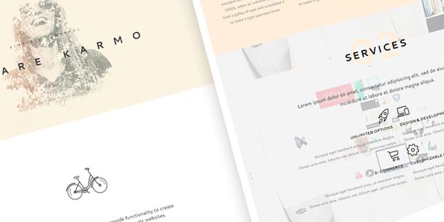 Karmo – smooth, agency HTML template