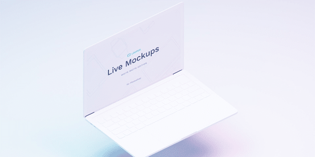 8 wonderful Apple device mockups