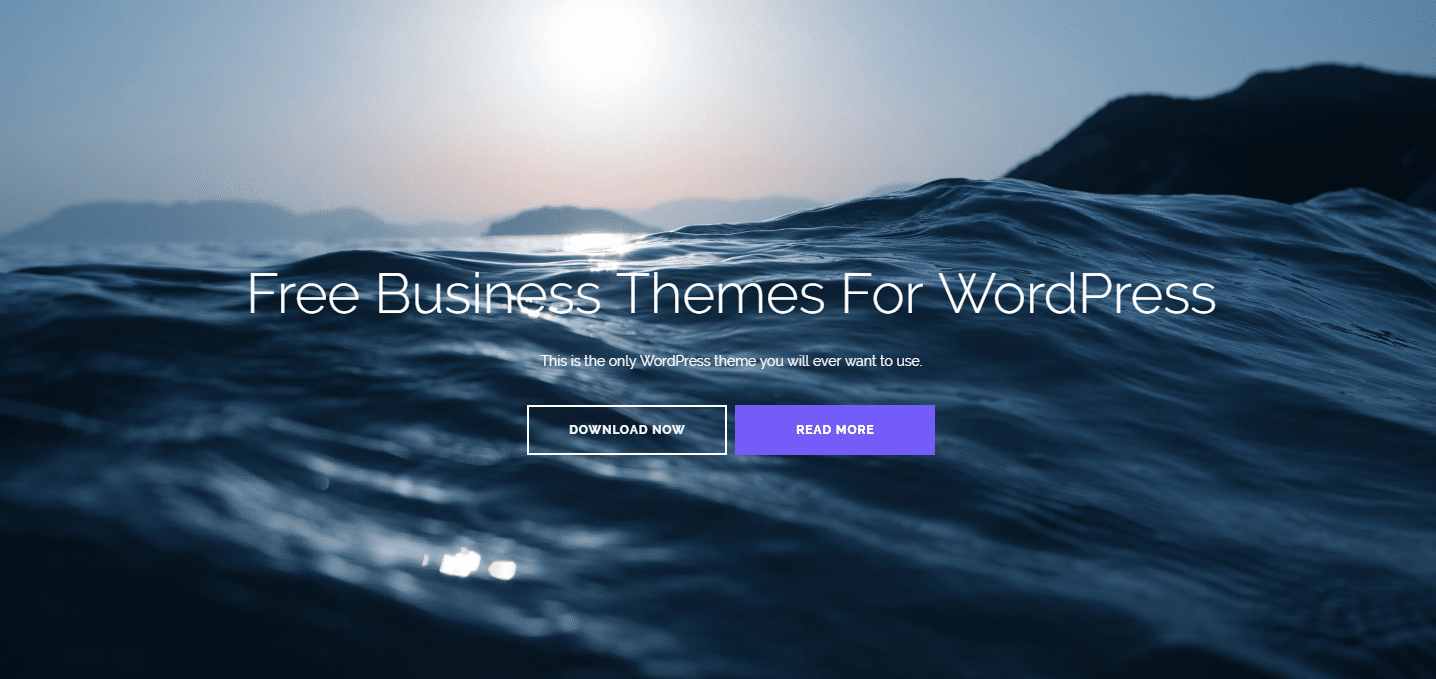 Best 15 Free Stunning WordPress Business Themes 2017