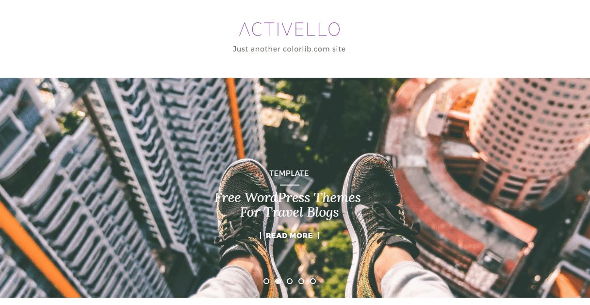 15 Free WordPress Themes For Travel Blogs 2017