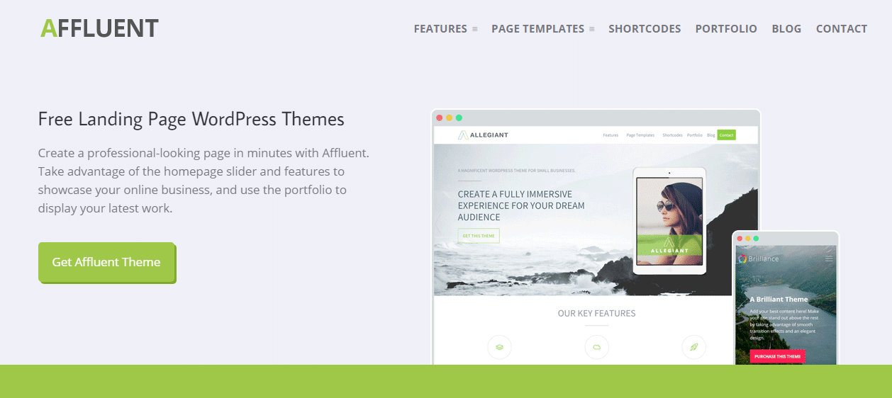 15 Best Free Landing Page Themes For WordPress