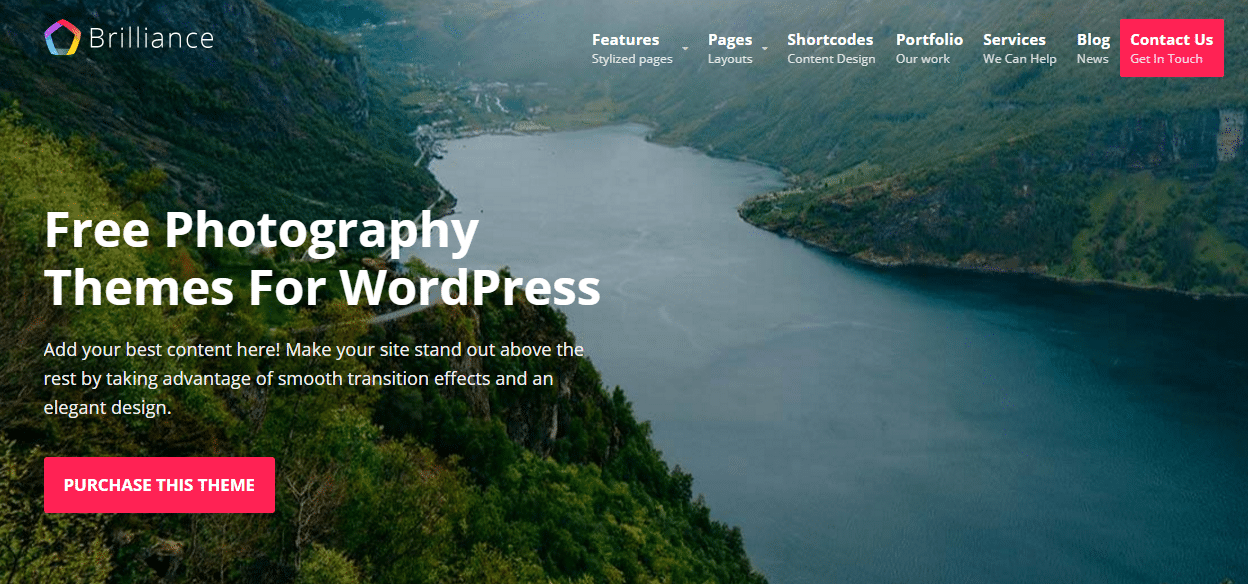 Best 15 Free Photography Themes For WordPress