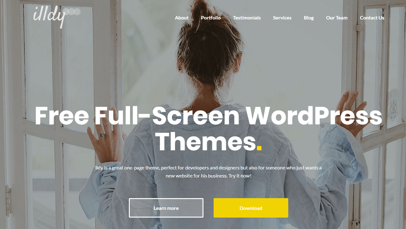 Best 15 Free Responsive Full-Screen Themes For WordPress