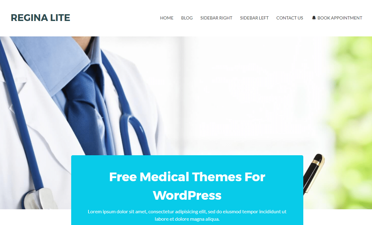 Best 15 Free Responsive Medical WordPress Themes 2017