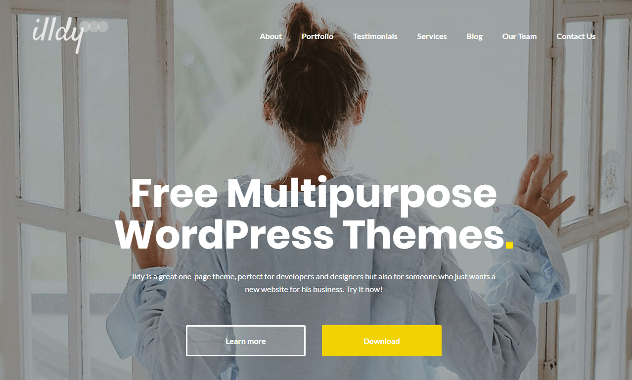 Best 15 Free Responsive Multipurpose WordPress Themes