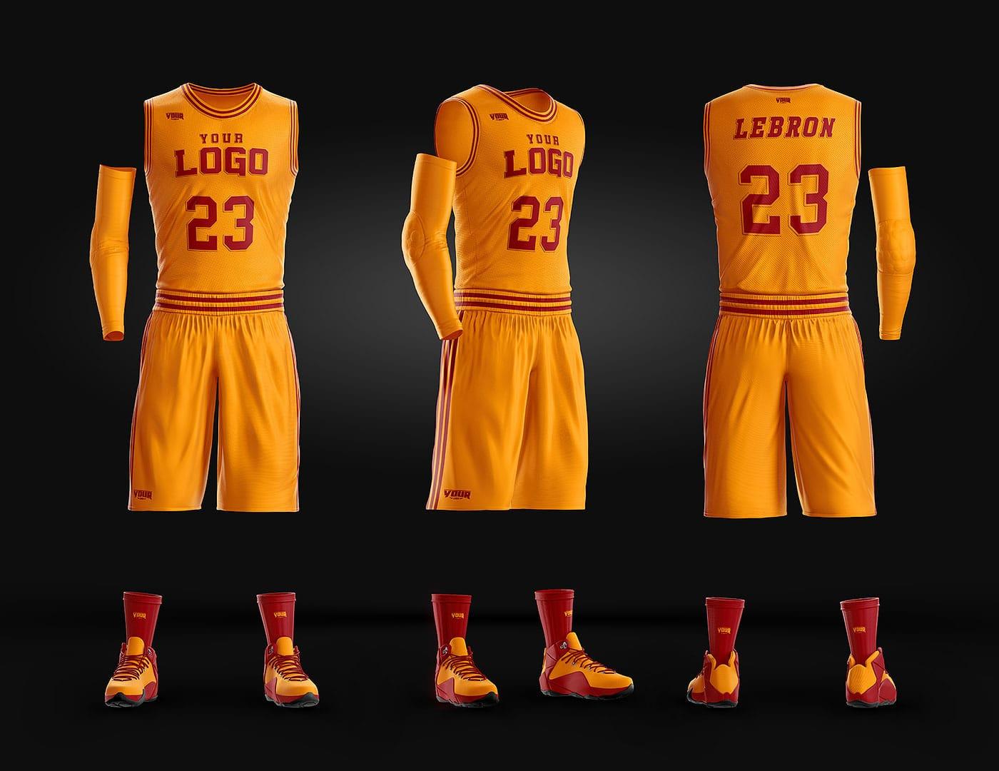 Basketball Uniform Jersey