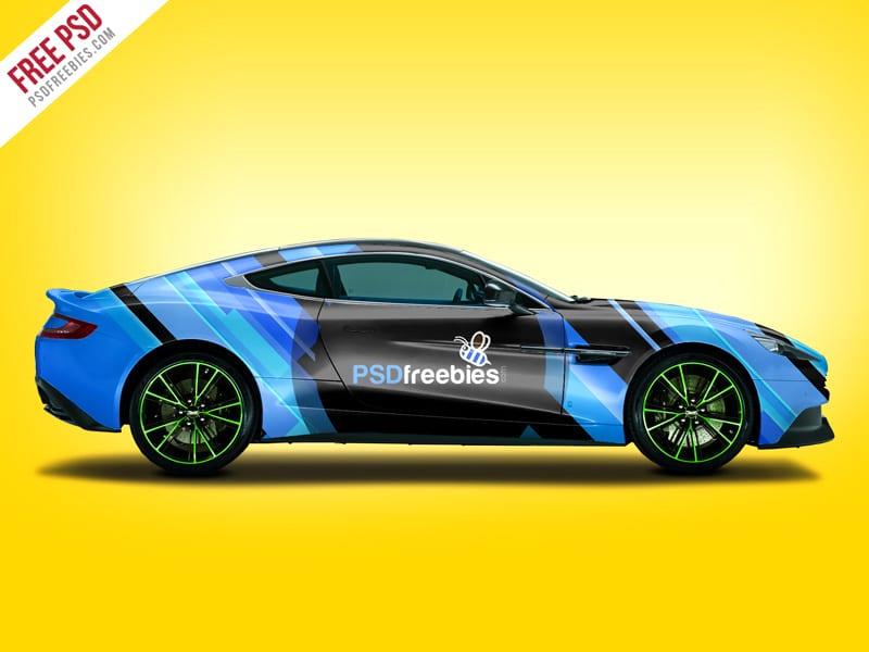Aston Martin Mockup