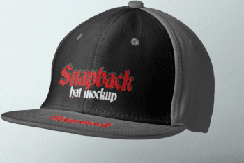Get Cool Looking Snapback Mockup for Free