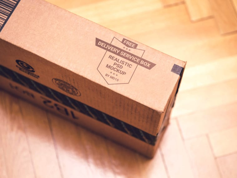 Package Branding Mockup