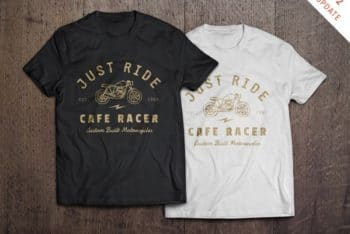 T-Shirt Mockup (Front and Back)