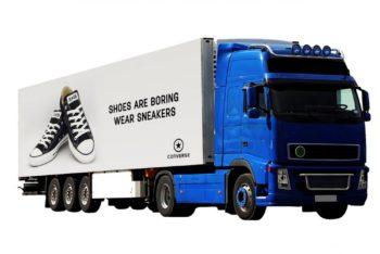 Huge Truck Advertising Mockup Freebie