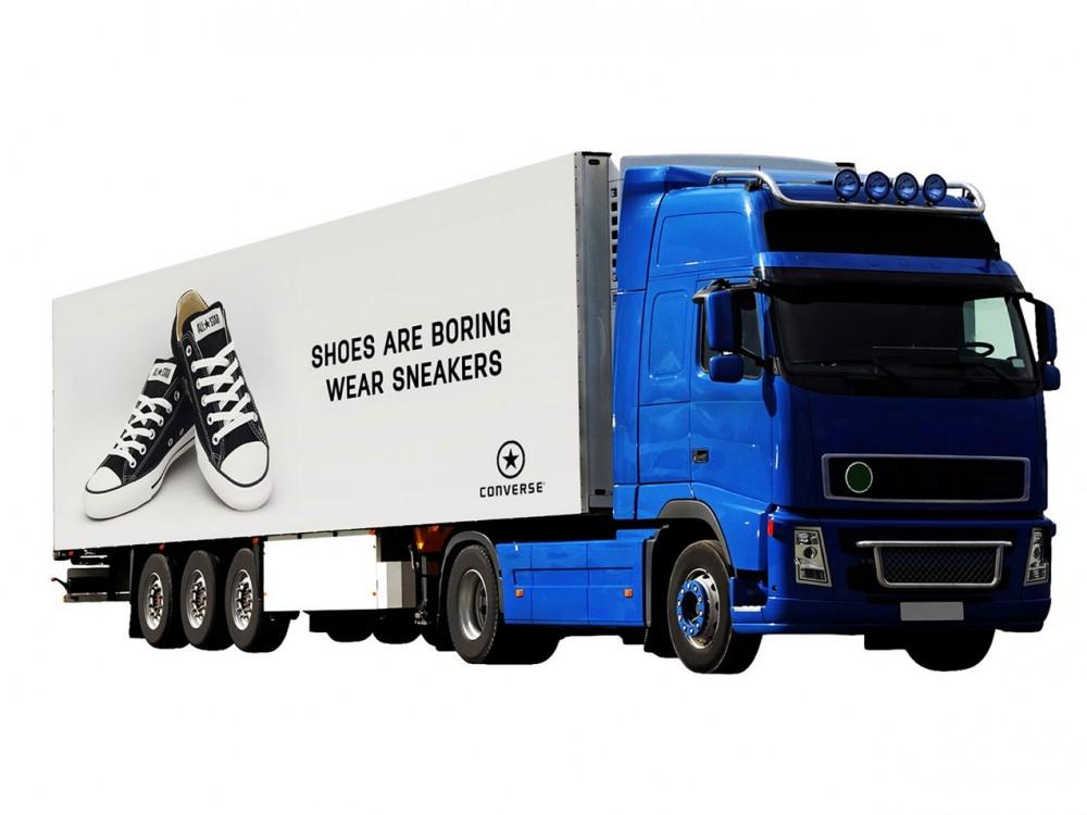 Huge Truck Advertising