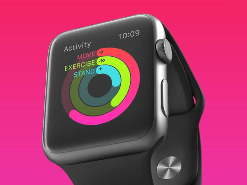Fitness Apple Watch Free Mockup